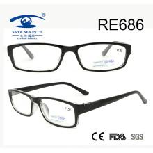 Full-Rim al por mayor gafas de lectura de moda para las mujeres (RE686)