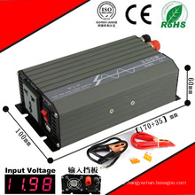 400W DC-AC Inverter 12VDC or 24VDC to 110VAC or 220VAC Pure Sine Wave Inverter