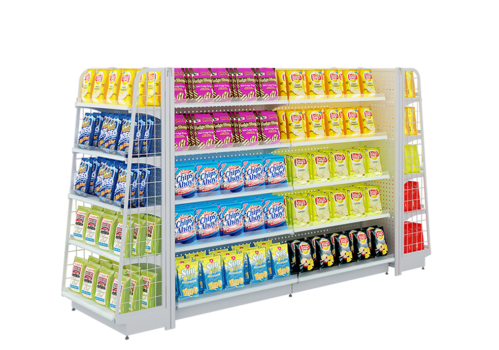 Metal Supermarket Shelving