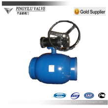 cast steel full weld ball valve st37 for heating supply