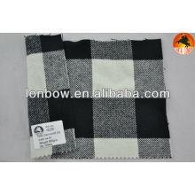 Tela de lana de cachemira de stock twill para abrigo