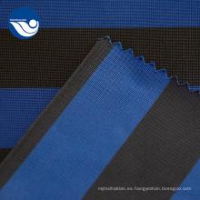 Tela de forro tejida impresa a rayas tejida de moda
