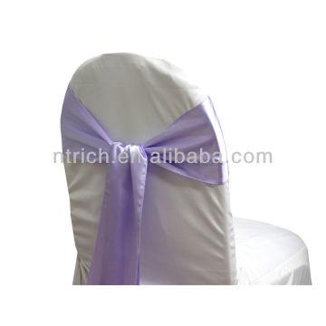 lavendor, faixa de cetim cadeira chique moda volta, gravata gravata borboleta, nó, casamento barato cadeira capas e faixas para venda