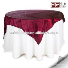 100% poliéster nuevo diseño al por mayor decoración banquete trapo de mesa