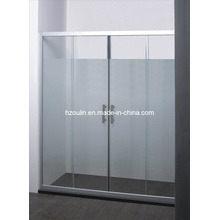 Chrome Aluminum Shower Door (SD-302)