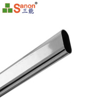 Aisi Oem 201 304 316 316L Cabinet Tapered Ellipse Tube Welded Oval Stainless Steel Pipe