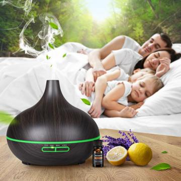 Wooden Wood Oil Aroma Diffuser 300ml