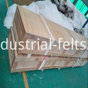 linear screen cloth wooden box