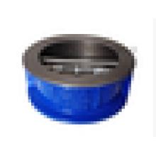 Чугуна двойной пластины заслонки клапана