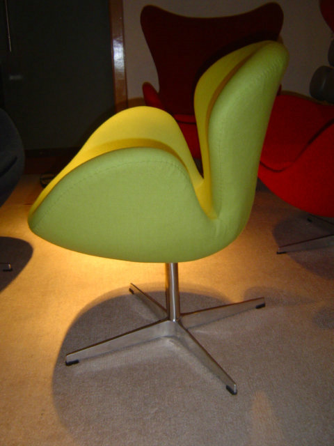 Designer swan chair