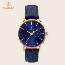 Mens Casual Watches Men Water Resistant Leather Quartz Bracelet Watch72386