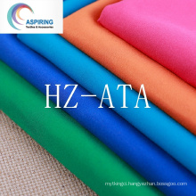 100% Polyester Microfiber Fabric Twill Dyed
