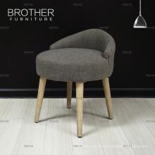 living room furniture elegant ottoman stool with wooden frame