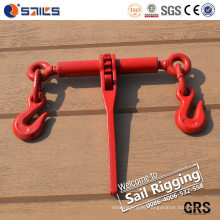 Carbon Steel Forged Ratchet Type Load Binder with Grab Hooks