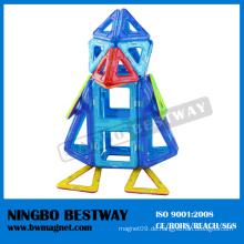 Plastik, das magisches Spielzeug für Kinder verbindet Neues Geschenk magnetisch