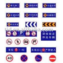 Panneaux de signalisation réfléchissants
