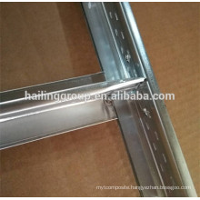 Hot dipped galvanized t grid false ceiling