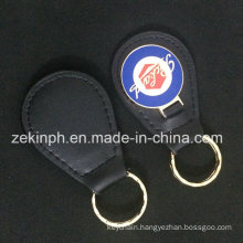 Metal Custom Leather Key Chain for Gift