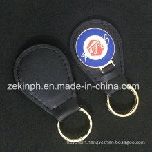 Metal Custom Leather Key Chain for Gift
