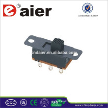 Mini slide switch SS23L05 made in China 2p3t slide switch