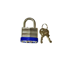 304 Stainless Steel Laminated Padlock with Keys (1513)