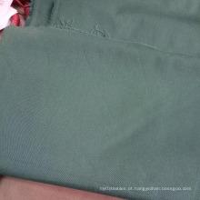 tecido liso tingido do workwear da mistura do algodão do poliéster