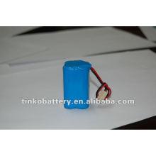 paquete de batería recargable de ni-mh 3.6v de alta calidad