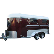 Hot sale cheap standard 2 or 3 horse trailer Horse Float