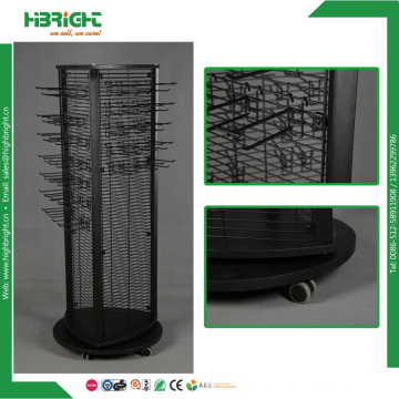 Metal Wire Spinner Display Rack for Hanging Items