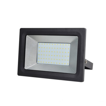 50W Outdoor Slim Black Driverless LED Flood Light