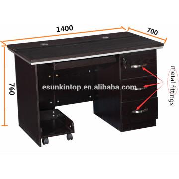 Mesa de computador de madeira design / mesa de computador simples design / design moderno mesa de computador de móveis