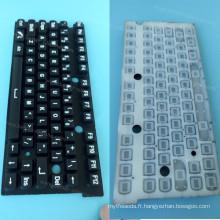 Couverture faite sur commande de clavier d'ordinateur portable pour le protecteur de clavier de silicone