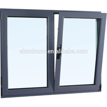 CHINA TOP THERMAL BREAK ALUMINIUM GLASS SIDE-HUNG OUTSIDE WINDOW