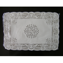rectangular  lace paper doily 10x14.5inch
