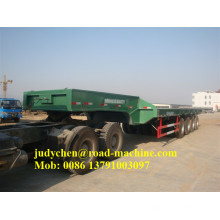 Sinotruk / CIMC 60t-100t 3 essieux bas lit semi-remorque