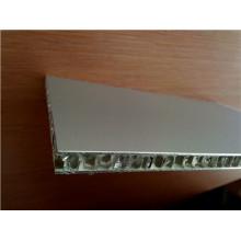 Panel decorativo de nido de abeja de aluminio ligero decorativo para la decoración del interoir