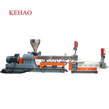 Máquina para fabricar gránulos de plástico de doble tornillo