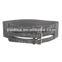 Cinturón elástico ancho de la venta de la mujer caliente para el vestido