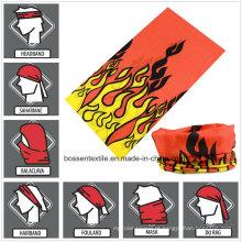 Bandana multifuncional personalizada para motociclistas de estilo uniforme e esportes ao ar livre