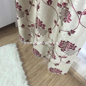 Shinning Curtain Fabric Blackout