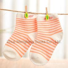 Coton coloré Kid exécutées chaussettes de bonne qualité avec le bon prix