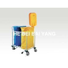 (B-110) Двойные ковши ABS Загрязняющая тележка