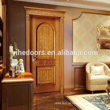 Mais recente design porta de madeira porta interior quarto porta mdf