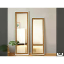 Golden / sliver color 35*137cm floor standing mirrors and wall hanging silver aluminum mirrors