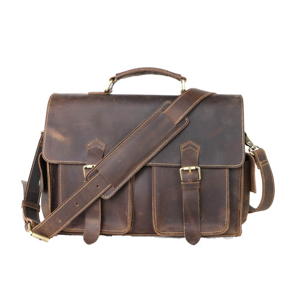 PU Leather Men Messenger Bag
