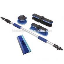 multifunctional car cleaning brush kit with hose attachment
