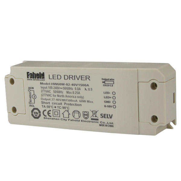 60w Constant Current Led Driver