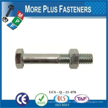 Made In Taiwan Hexagon Head Bolt and Hex Nut