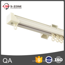 Ligth duty one cover straight single curtain track