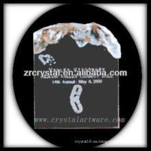 trofeo de cristal atractivo en blanco del diseño X057
